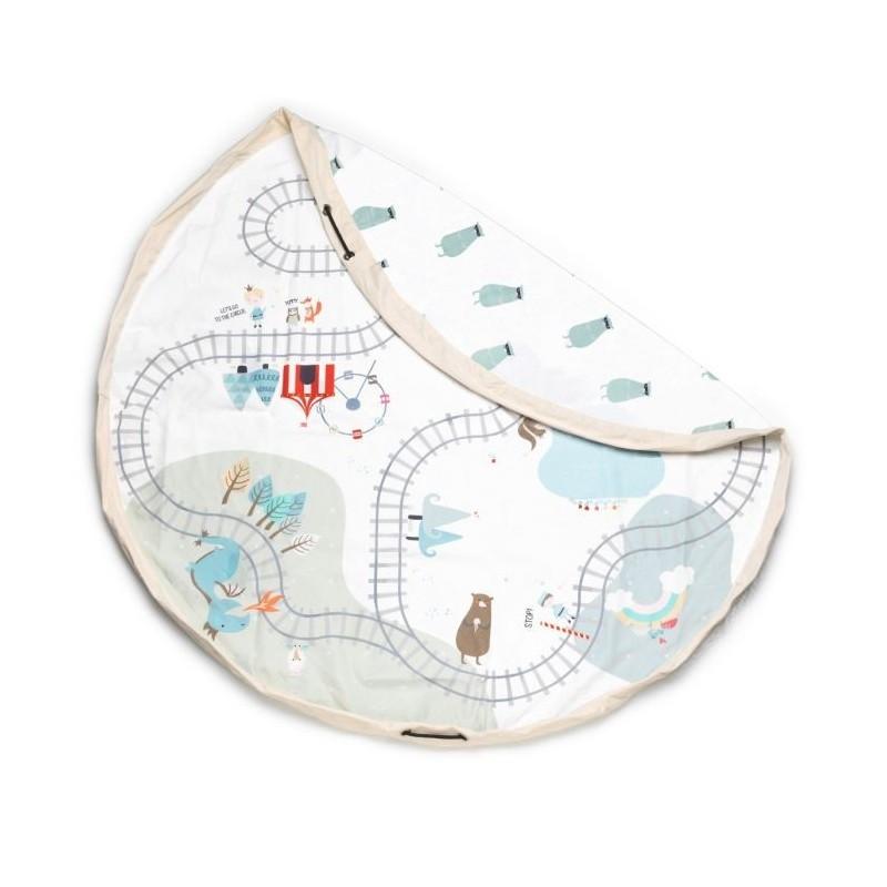 Play & Go Train - Zug - Spielmatte und Aufbewahrungstasche