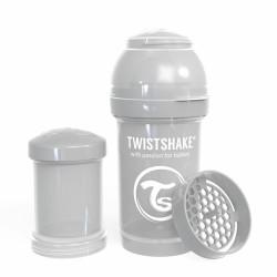 Twistshake Anti-Kolik Flasche pastel grau, 180ml