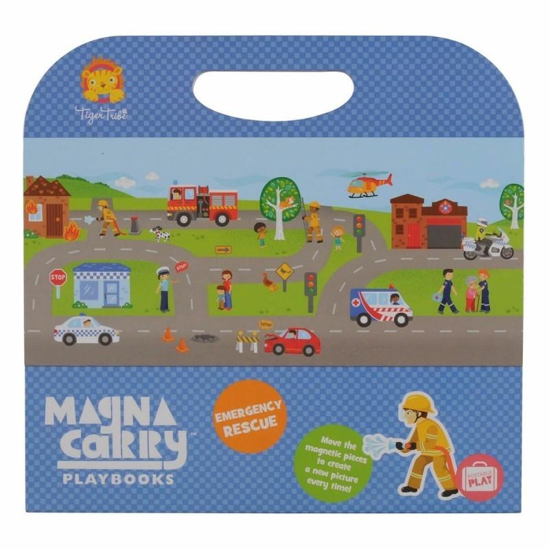 Magnetspiel Magna Carry Rettungsdienst - Emergency Rescue von Tiger Tribe