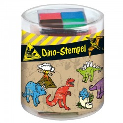 Kleine Stempelbox - Dino Stempel