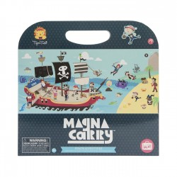 Magnetspiel Magna Carry Piraten - Pirate  Adventures von Tiger Tribe