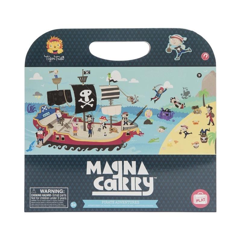Magnetspiel Magna Carry Piraten - Pirate  Adventures von Tiger Tribe