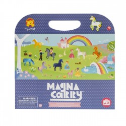 Magnetspiel Magna Carry Einhorn - Unicorn Kingdom von Tiger Tribe