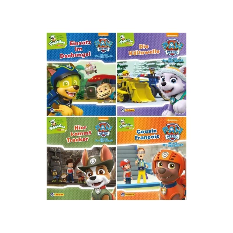 PAW Patrol 5-8 - 4 Mini-Bücher