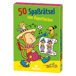 50 Spassrätsel zum Kaputtlachen