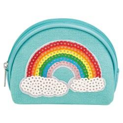 Regenbogen Portemonnaie für Kinder