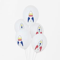 My Little Day - 5 Ballons Astronaut - Weltall