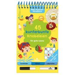 Mein Ruckzuck-Rätselblock - 45 kunterbunte Knobeleien für gute Laune