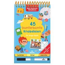 Mein Ruckzuck-Rätselblock - 45 kunterbunte Knobeleien für kluge Köpfe