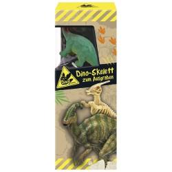 Dino Skelett zum Ausgraben plus Spielfigur - Ausgrabeset