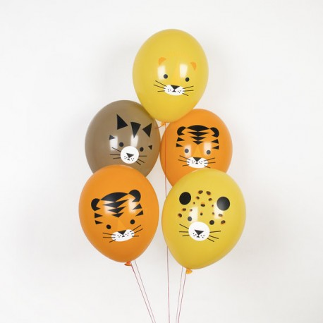 My Little Day - 5 Ballons Katzen