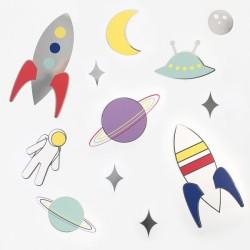 My Little Day Papierdekoration Astronaut & Weltraum