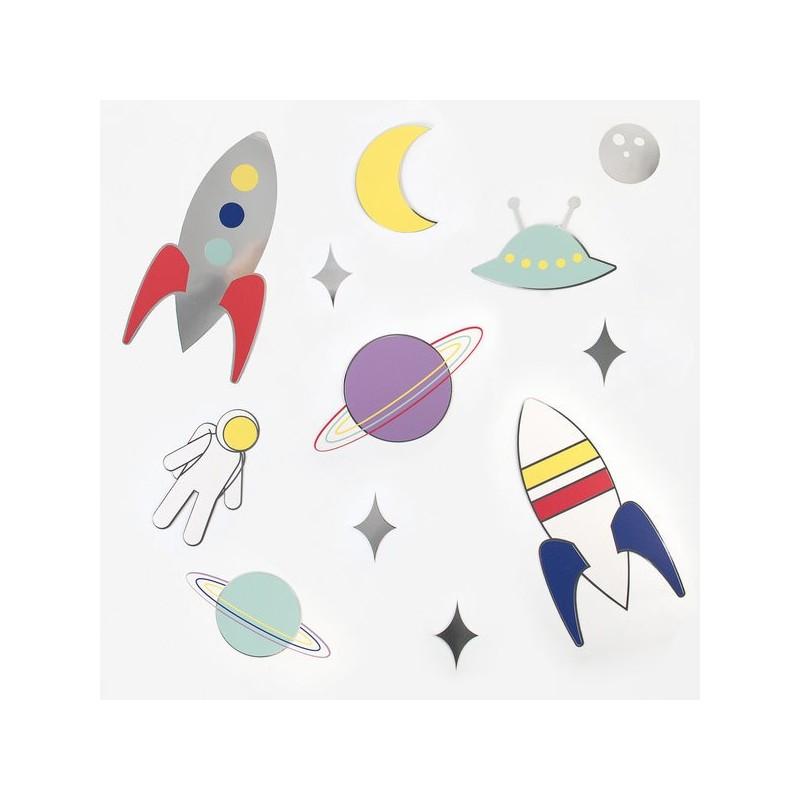 My Little Day Papierdekoration Astronaut - Weltall
