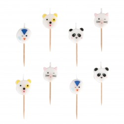 My Little Day Kerzen Mini Animals