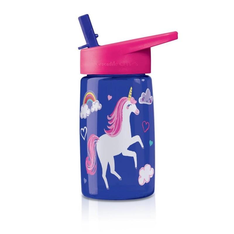 Trinkflasche Eco Kids Unicorn - Einhorn aus Tritan von Crocodile Creek