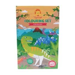 Ausmal Set Dinosaurier von Tiger Tribe