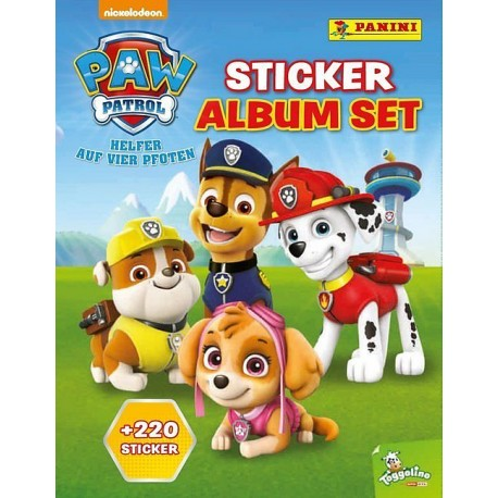 PAW Patrol Sticker Album Set mit 220 Stickern