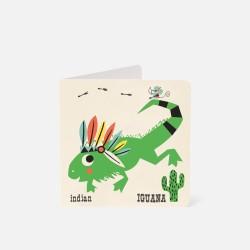 """Karte """"Iguana"""""""