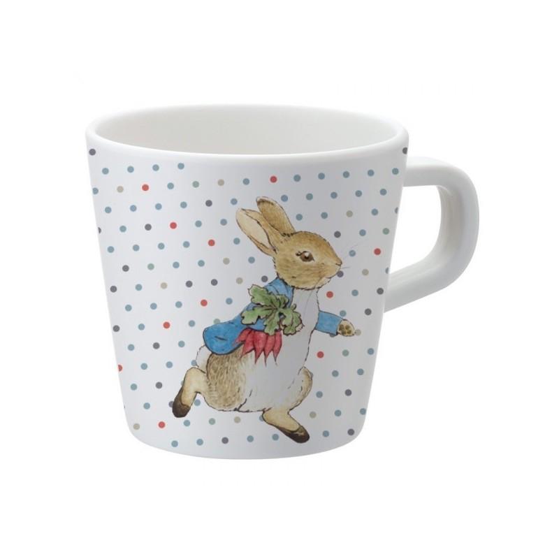 Melamin Tasse Peter Rabbit - Peter Hase