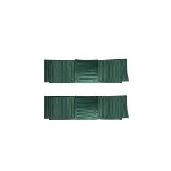 Haarspangen Ribbon mit grüner Schleife