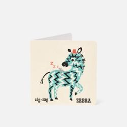 "Karte ""Zebra"""
