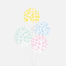 My Little Day Luftballons Konfetti mix pastel