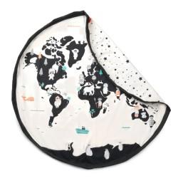 Play & Go Worldmap - Weltkarte - Spielmatte und Aufbewahrungstasche