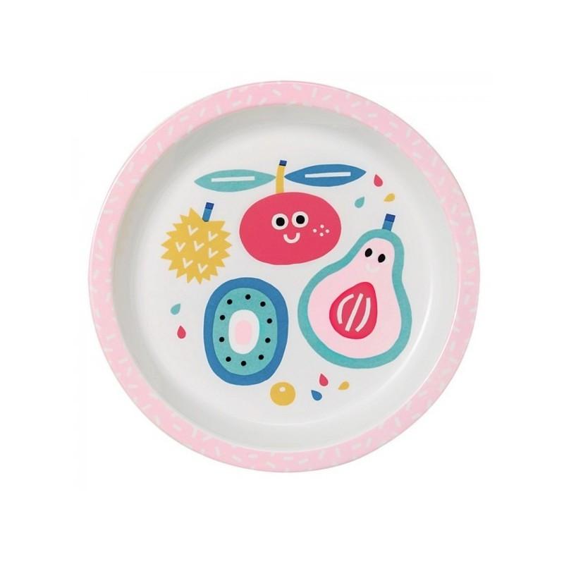 Melamin Teller Tutti Frutti, 18 cm