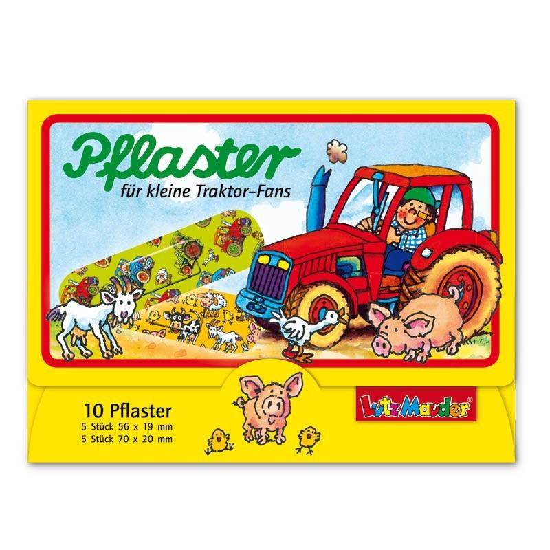 Pflasterbriefchen Traktor von Lutz Mauder