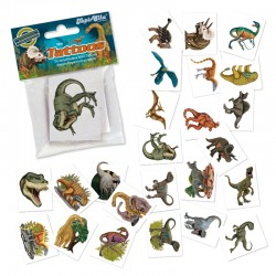 Mini Tattoo Set Dino TapirElla mit 24 Tattoos von Lutz Mauder
