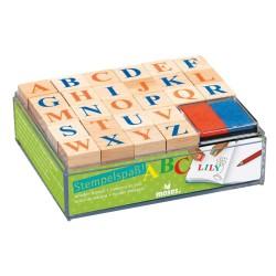 Stempelspass ABC mit 26 Buchstaben