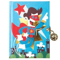 Tagebuch Superhero mit Superhelden Motiven