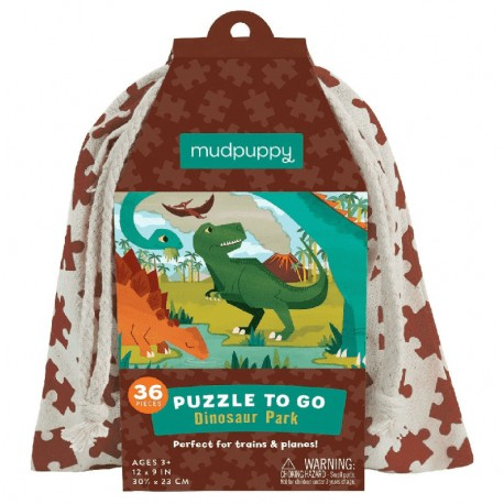 Puzzle To Go Dinosaurier Park