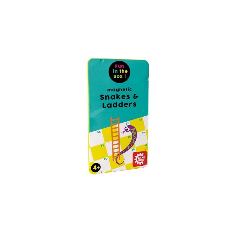 Magnetisches Leiterspiel Snakes & Ladders