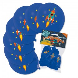 Ballons Rakete aus dem Lutz Mauder Verlag