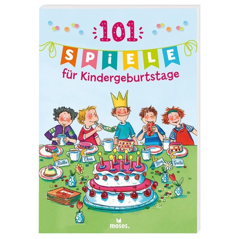 101 Spiele für Kindergeburtstage