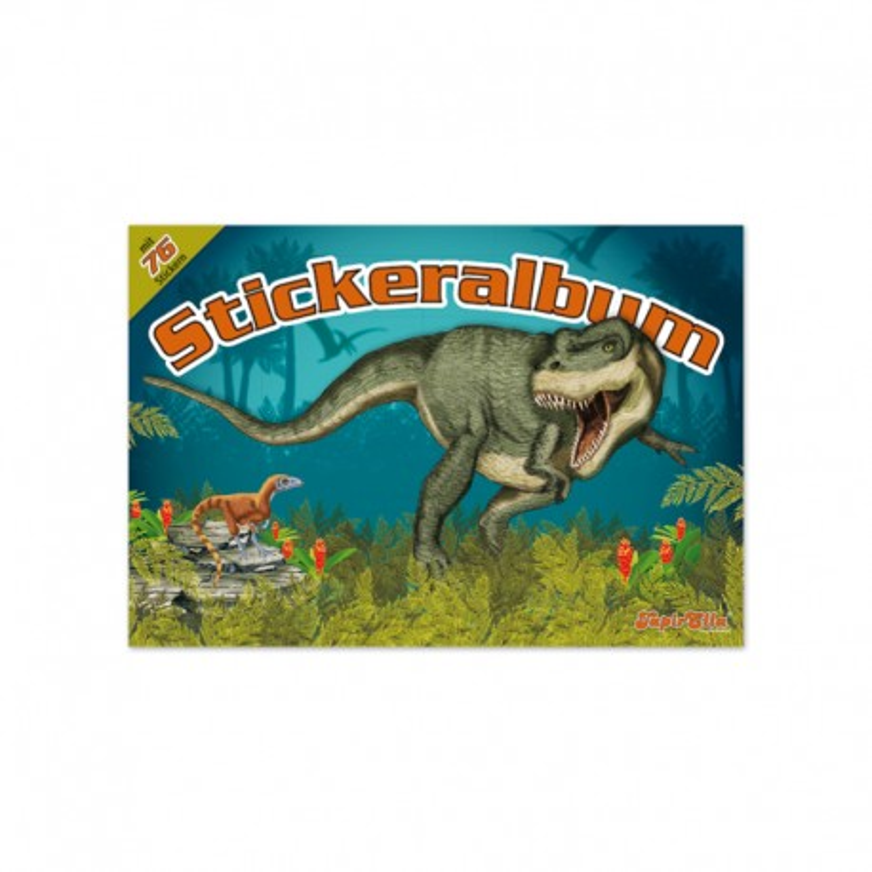TapirElla Stickeralbum T-Rex - Dinosaurier