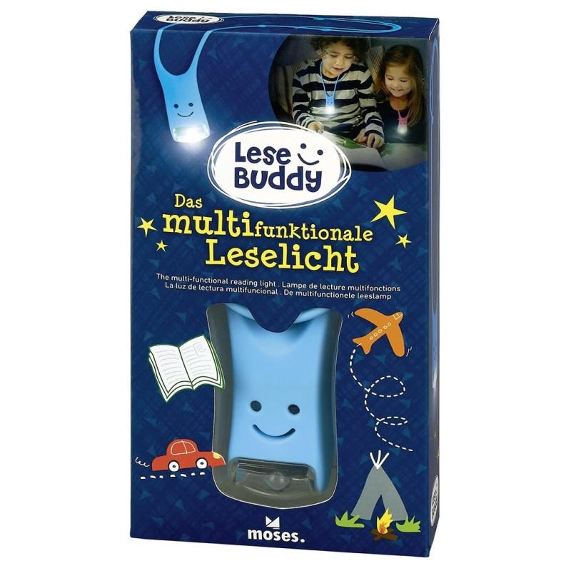 Lese Buddy - Das multifunktionale Leselicht in blau