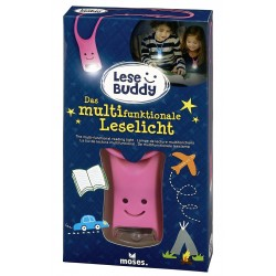 Lese Buddy - Das multifunktionale Leselicht in pink