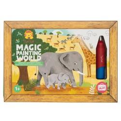 Magische Malwelt Safari Abenteuer