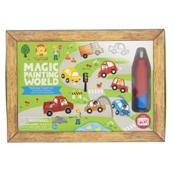Magische Malwelt Fahrzeuge - Dinge, die sich bewegen