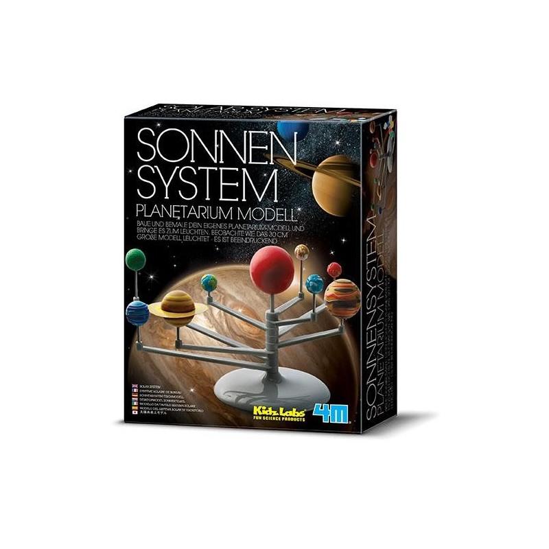Sonnensystem Planetarium Modell zum Selberbauen