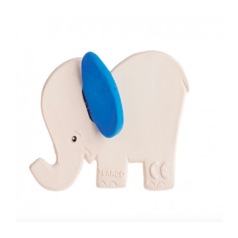 Beissring & Greifling Elefant aus Naturkautschuk von Lanco Toys