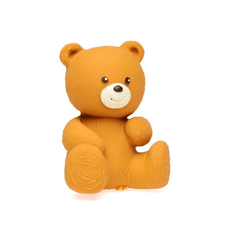 Greifling und Zahnungshilfe Bär aus Naturkautschuk von Lanco Toys