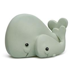 Greifling und Zahnungshilfe Wal aus Naturkautschuk von Lanco Toys