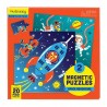 Magnetische Puzzle Astronaut & Weltraum von Mudpuppy