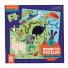 Magnetische Puzzle Land- und Seetiere von Mudpuppy