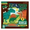 Magnetische Puzzle Dinosaurier von Mudpuppy