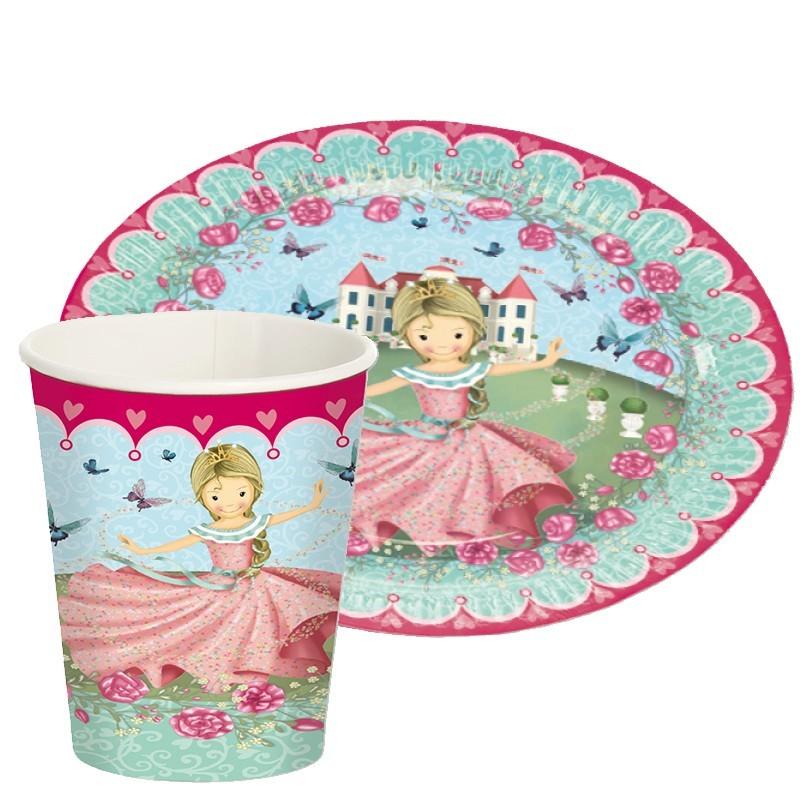 Kinderpartyset Prinzessin Floralie aus dem Lutz Mauder Verlag