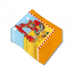 Servietten Bagger aus dem Lutz Mauder Verlag